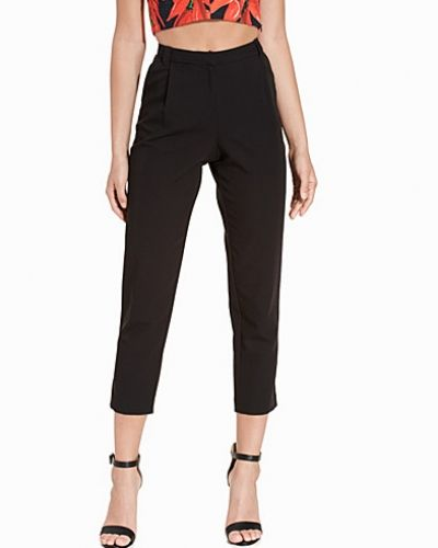 Topshop Tapered Front Pleat Trousers