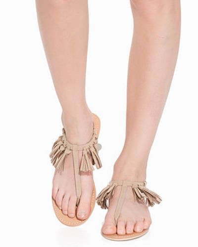 Nly Shoes Tassel Coin Sandal
