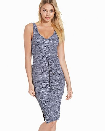 Topshop Textured D-Ring Midi Dress