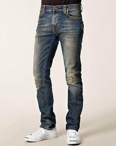 Thin Finn Organic Shawn Replica Nudie Jeans straight leg jeans till herr.