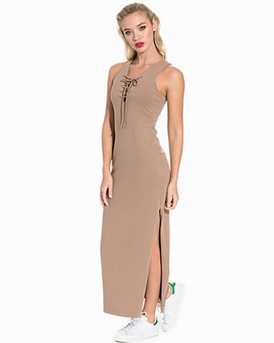 NLY Trend Tie Hard Maxi Dress
