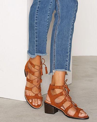 Miss Selfridge Tie Sandal