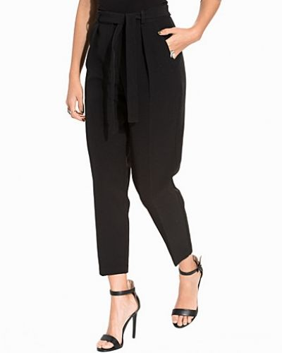 New Look Tie Waist Cropped Trouser