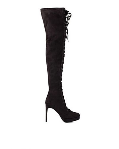 Rebecca Stella For Nelly Tigh High Lace Boot