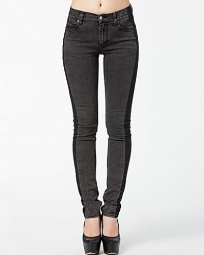 Cheap Monday Tight Enlarge Black Jeans