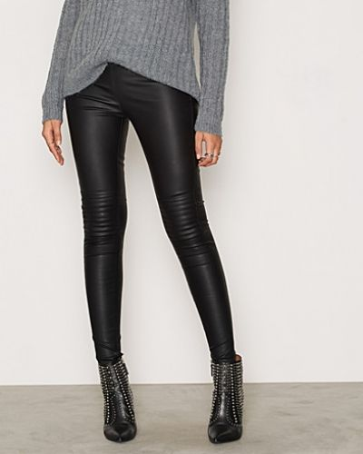 Läderbyxa Tight Pu Leather Pants från Glamorous