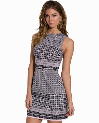 New Look Tile Print Sleeveless Dress