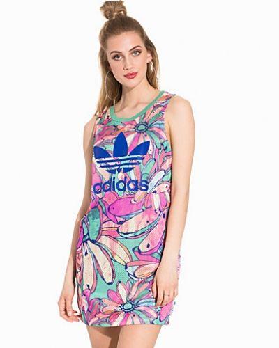 Flerfärgad oversizeklänning från Adidas Originals till dam.
