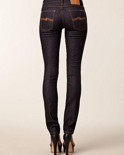 Tube Kelly Organic Dips Dry Nudie Jeans slim fit jeans till dam.