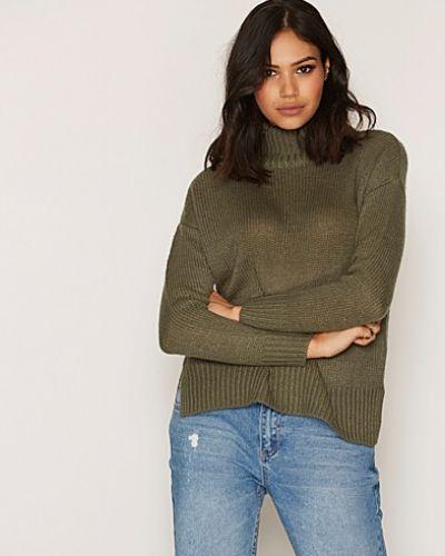 Till dam från New Look, en grön stickade tröja.