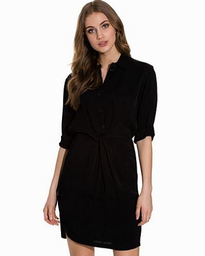 Topshop Twist Front Shirtdress