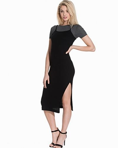 Topshop Two In One T-shirt Midi Dress
