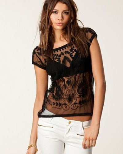 Undermore Netting Top Hunkydory t-shirts till dam.