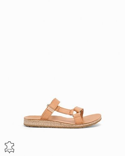 Universal Slide Leather Teva sandal till dam.