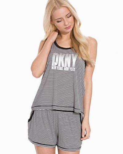 DKNY Lounge Wear Urban Esentials Tank & Boxer