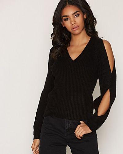 Till dam från Miss Selfridge, en svart stickade tröja.