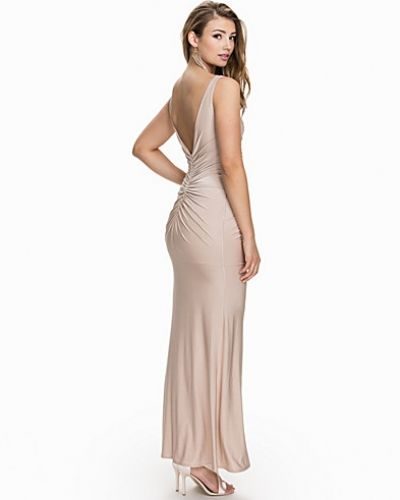 Nly Eve V-neck Drape Dress