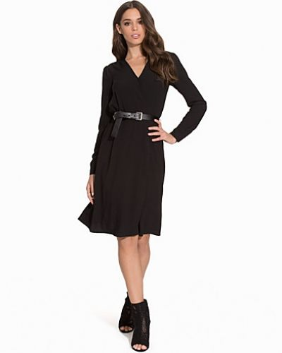 MICHAEL Michael Kors V Neck Gathered Dress