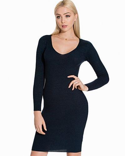 Miss Selfridge V Neck Rib Dress
