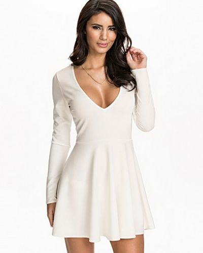 NLY One V-Neck Skater Dress