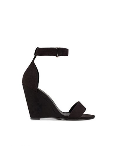 Nly Shoes Velcro Wedge Sandal