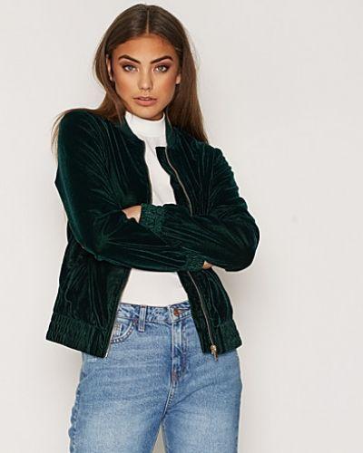 New Look Velvet Bomber Jacket