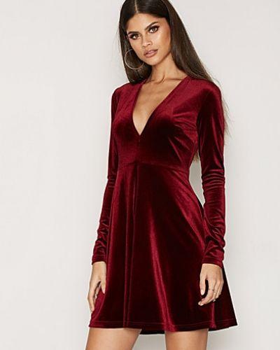 NLY Trend Velvet Skater Dress