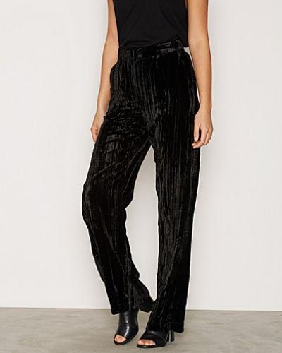 Byxa Velvet Wide Leg Trousers från Topshop