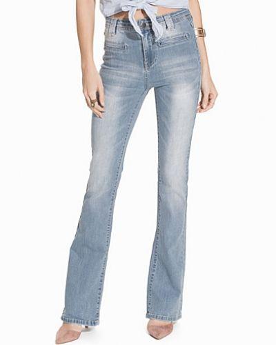 VICALM HW HK0102 FLARED GV VILA bootcut jeans till dam.