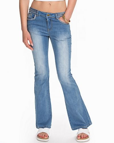 VICALM RW 5P BRAID JEANS VILA bootcut jeans till dam.