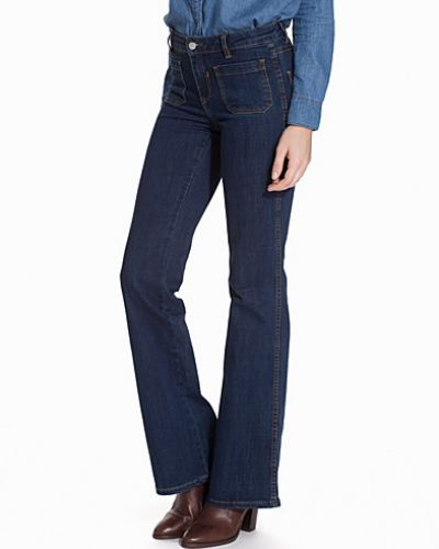 VICALM RW 5P HK0093 FLARED VILA bootcut jeans till tjejer.
