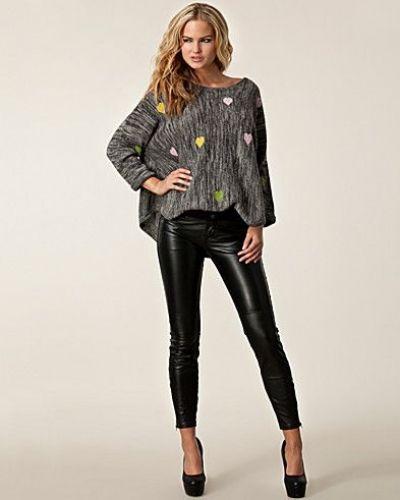 Vicky Leather Trousers Twist & Tango blandade jeans till dam.