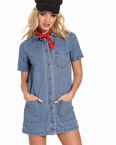 VILA VILOGY S/S DENIM TUNIC
