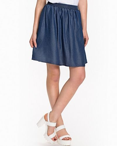 VILA Vipro Denim Skirt