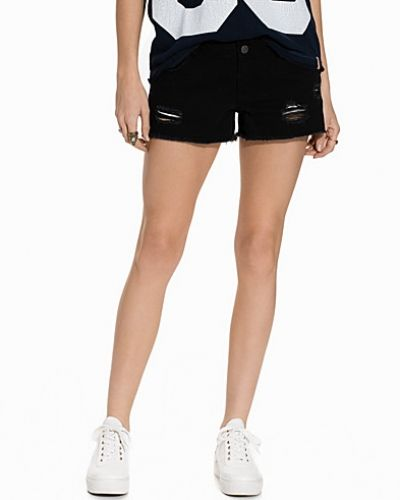 VMBE FIVE LW MINI DESTROY COLOR SHO Vero Moda jeansshorts till tjejer.