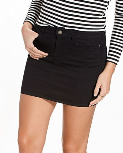 Svart jeanskjol från Vero Moda till tjejer.