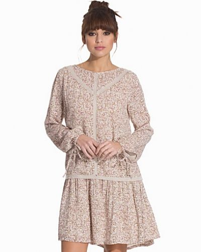 Långärmad klänning från Vero Moda till dam.