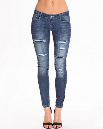 Vmgamberly Slim Dest Jeans Vero Moda slim fit jeans till dam.