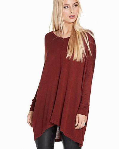 Till dam från Vero Moda, en brun stickade tröja.