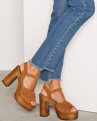 Brun sandal från Vero Moda till dam.