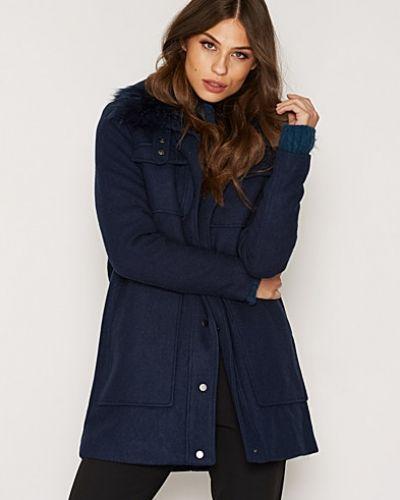 Till dam från Vero Moda, en blå kappa.