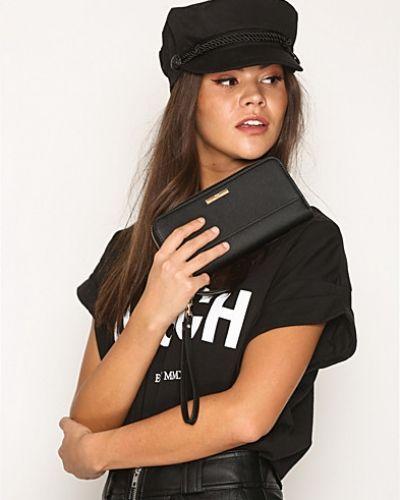 Till dam från NYPD, en svart plånbok.