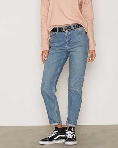 Wash Mom Jeans Miss Selfridge straight leg jeans till dam.