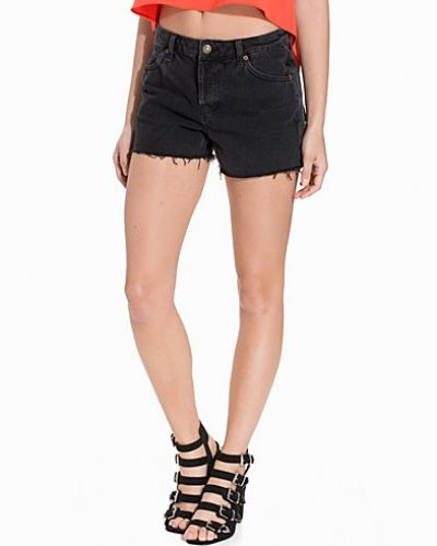 Jeansshorts Washed Black Ashley Shorts från Topshop