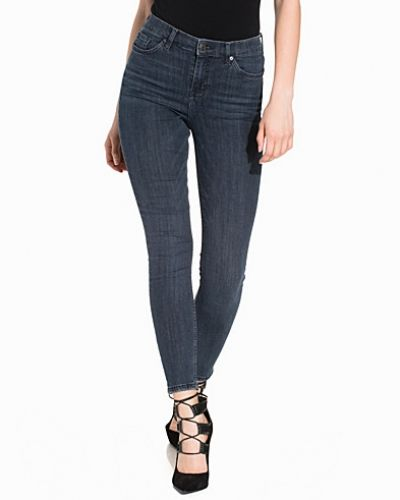 Topshop Washed Blue Jamie Jeans