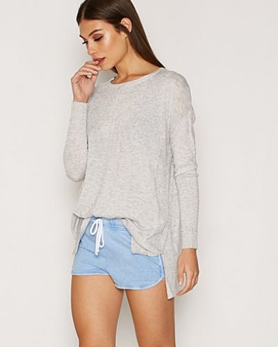 Topshop Washed Stitch Runner Shorts