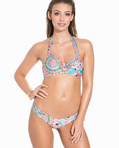 Till tjejer från Lulifama, en flerfärgad bikinitrosa.