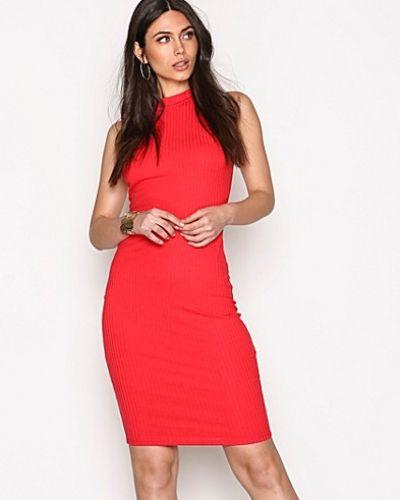 Wide Rib Midi Dress NLY Trend midiklänning till dam.