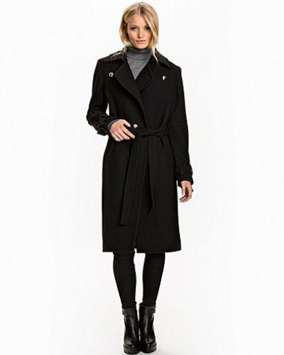Back Wool Coat