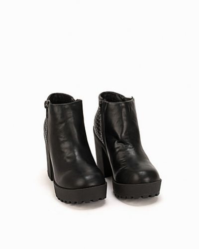 New Look Woven Chunky Boots